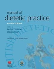 ISBN: 9781405135252 - Manual of Dietetic Practice
