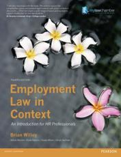 ISBN: 9781408270479 - Employment Law in Context