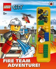 ISBN: 9781409309321 - LEGO CITY: Fire Team Adventure! Storybook with Minifigures and Accessories