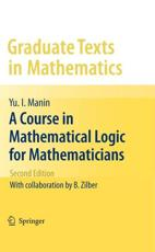 ISBN: 9781441906144 - A Course in Mathematical Logic for Mathematicians