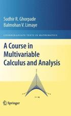 ISBN: 9781441916204 - A Course in Multivariable Calculus and Analysis
