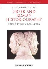 ISBN: 9781444339239 - A Companion to Greek and Roman Historiography
