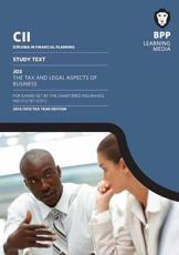 ISBN: 9781445362731 - CII - J03 the Tax and Legal Aspects of Business