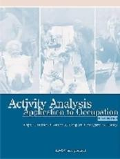Activity Analysis