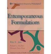Extemporaneous Formulations