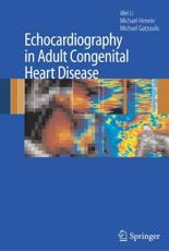 Echocardiography in Adult Congenital Heart Disease