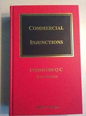 ISBN: 9781847036131 - Gee on Commercial Injunctions