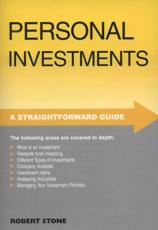 A Straightforward Guide to Personal Investments