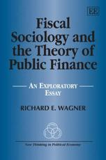 Fiscal Sociology and the Theory of Public Finance