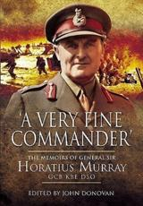 ISBN: 9781848843370 - A Very Fine Commander