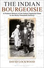 ISBN: 9781848854338 - The Indian Bourgeoisie