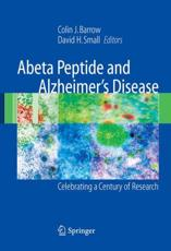 Abeta Peptide and Alzheimer's Disease