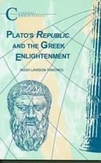 Platos Republic and the Greek Enlightenment
