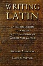 ISBN: 9781853997013 - Writing Latin