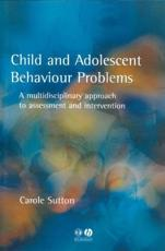 Child and Adolescent Behavioural Problems
