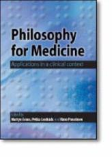 Philosophy for Medicine