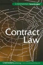 ISBN: 9781859419717 - Law Map In Contract Law