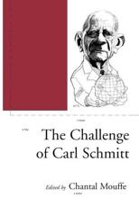 ISBN: 9781859842447 - The Challenge of Carl Schmitt