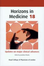 Horizons in Medicine (v. 18)