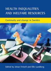 Health Inequalities and Welfare Resources