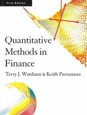 Quantitative Methods in Finance