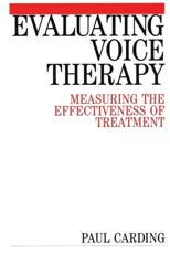 Evaluating Voice Therapy