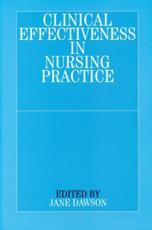 Clinical Effectiveness in Nursing Practice