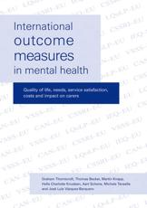 International Outcome Measures in Mental Health