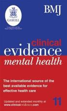 Clinical Evidence Mental Health