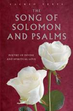 The Song of Solomon and Psalms