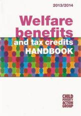 ISBN: 9781906076733 - Welfare Benefits and Tax Credits Handbook