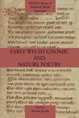 ISBN: 9781907322686 - Early Welsh Gnomic and Nature Poetry