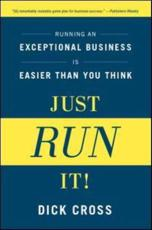 ISBN: 9781937134006 - Just Run It!