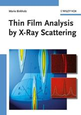 Thin Film Analysis by X Ray Scattering