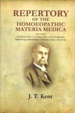 Repertory of Homoeopathic Materia Medica and a Word Index