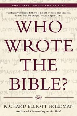ISBN: 9780060630355 - Who Wrote the Bible?