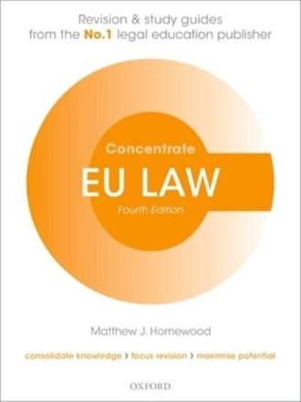 ISBN: 9780198703730 - EU Law Concentrate