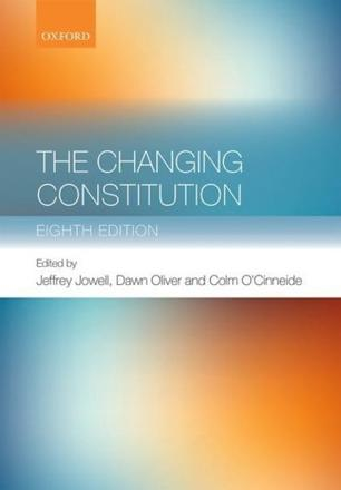 ISBN: 9780198709824 - The Changing Constitution