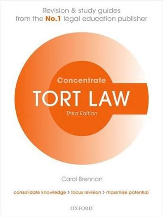 ISBN: 9780198729693 - Tort Law Concentrate
