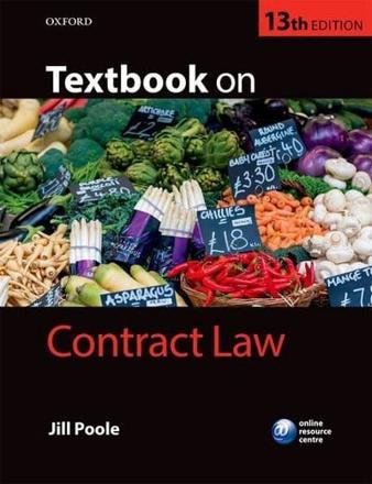 ISBN: 9780198732808 - Textbook on Contract Law