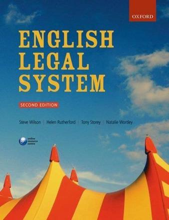 ISBN: 9780198747949 - English Legal System