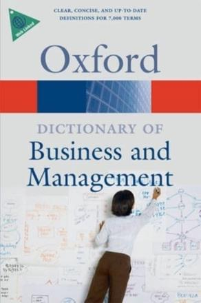 ISBN: 9780199234899 - A Dictionary of Business and Management
