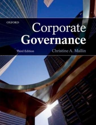 ISBN: 9780199566457 - Corporate Governance