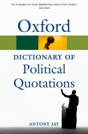 ISBN: 9780199572687 - Oxford Dictionary of Political Quotations