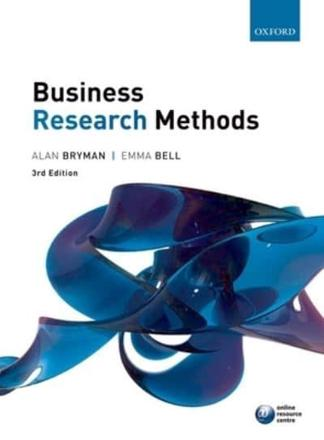 ISBN: 9780199583409 - Business Research Methods