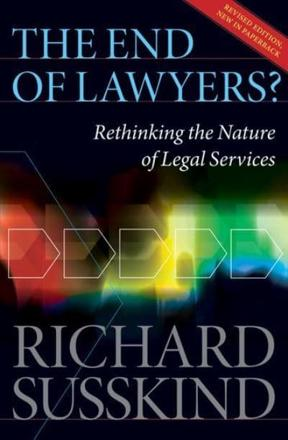 ISBN: 9780199593613 - The End of Lawyers?