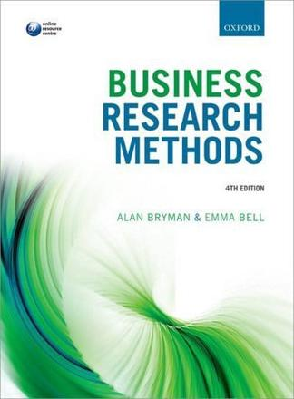 ISBN: 9780199668649 - Business Research Methods
