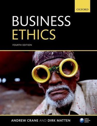 ISBN: 9780199697311 - Business Ethics