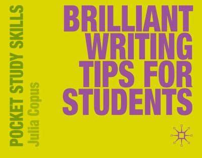 ISBN: 9780230220027 - Brilliant Writing Tips for Students
