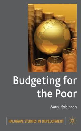 ISBN: 9780230224780 - Budgeting for the Poor